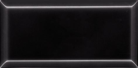 Metro Fliesen schwarz 1212MW90