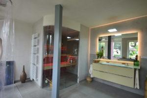 Ausstellung Badezimmer Sauna