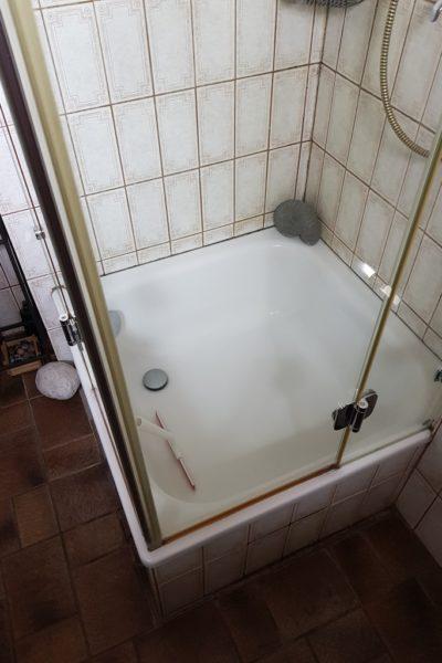 Alte Dusche Kundenbeispiel