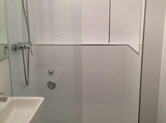 Dusche in Altbau