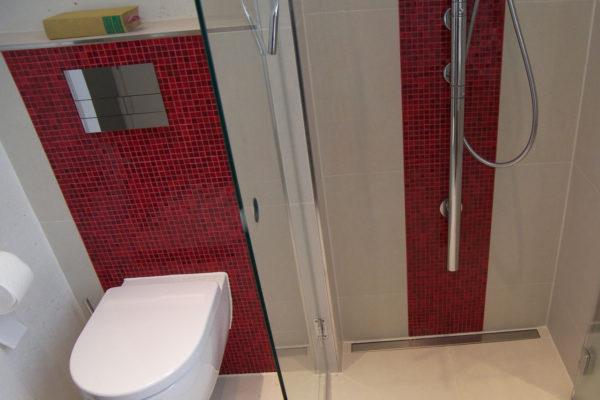 Fliesen Akzente Farben Badezimmer