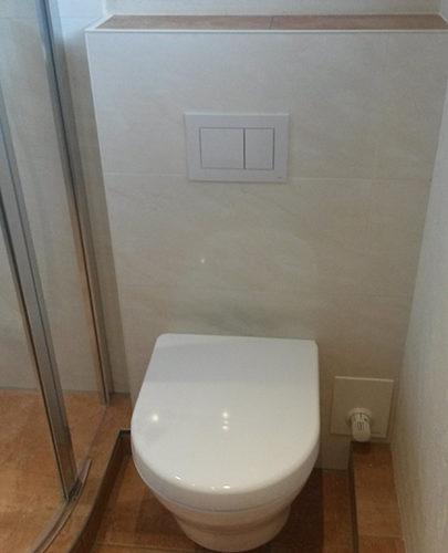 WC mit Turnadoflush