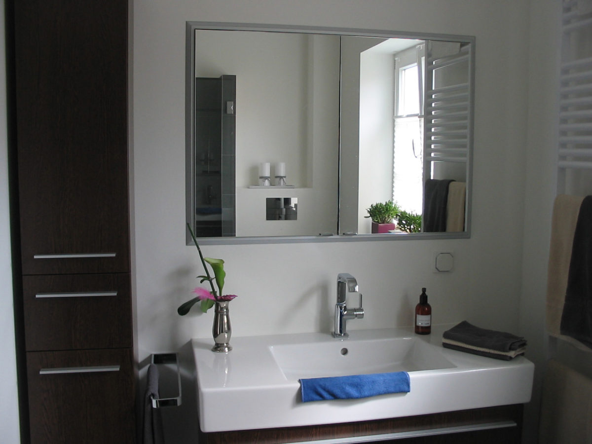 Waschtisch Spiegel Kleines Bad Inspiration