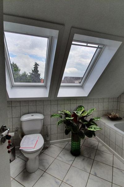 Bad alt Badewanne WC
