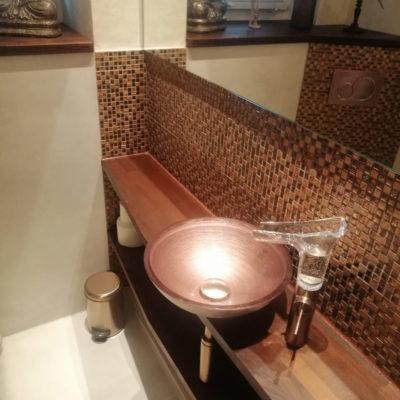 Gäste WC Aufsatzbecken