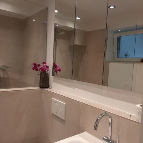 Neues Bad Spiegelschrank