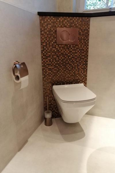 Glasmosaik & WC