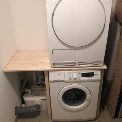 Neues Bad Waschmaschine