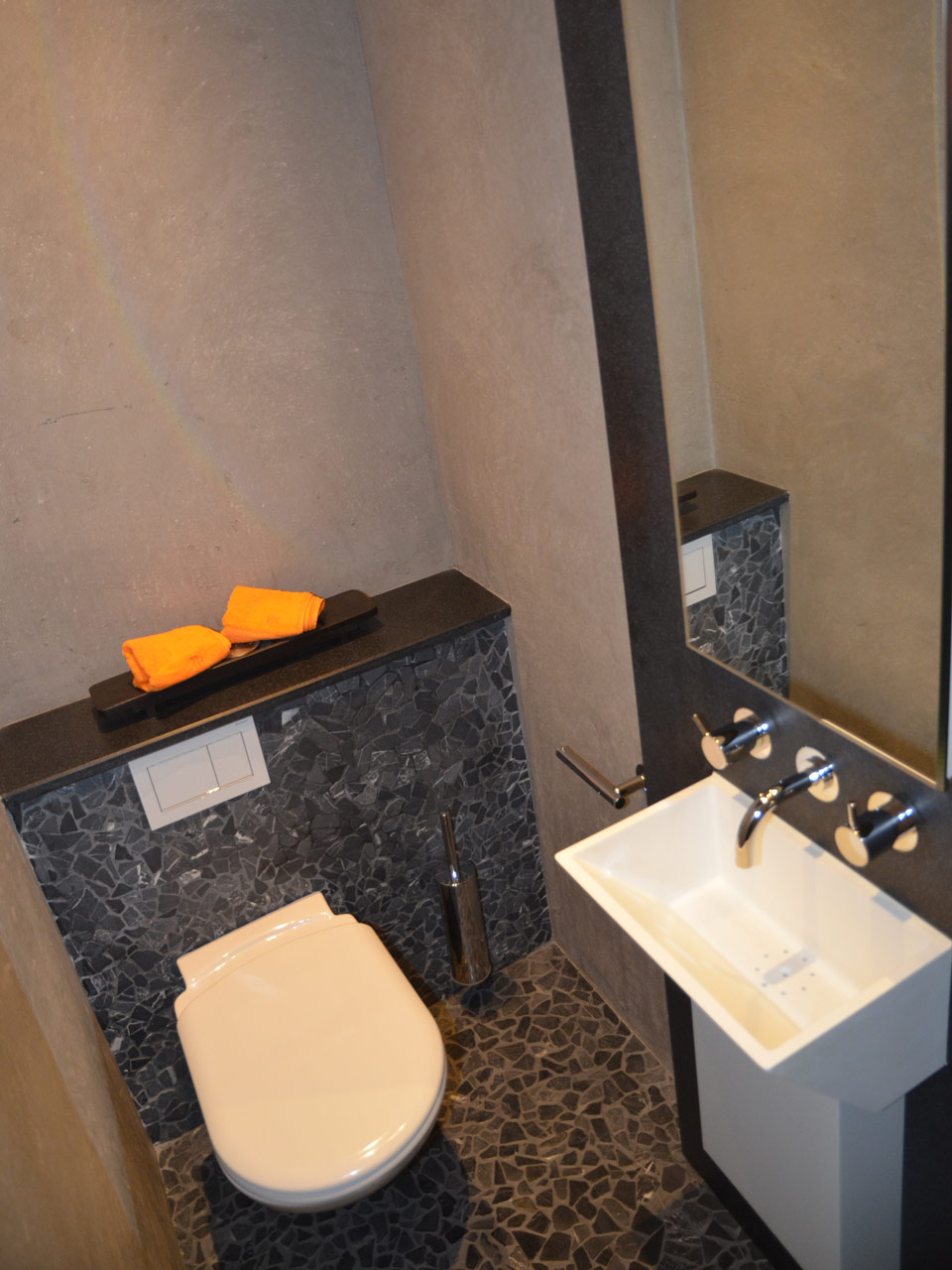 Badausstellung Bäder Dunkelmann Gäste WC