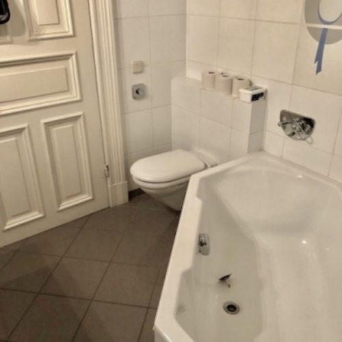 Badezimmer alt Badewanne WC