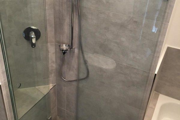 Badezimmer neu Duschbereich