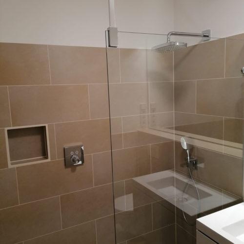 Badezimmer neu Dusche