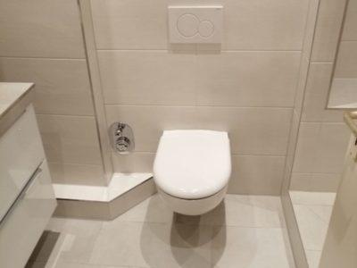 Kundenbeispiel Badezimmer neu WC