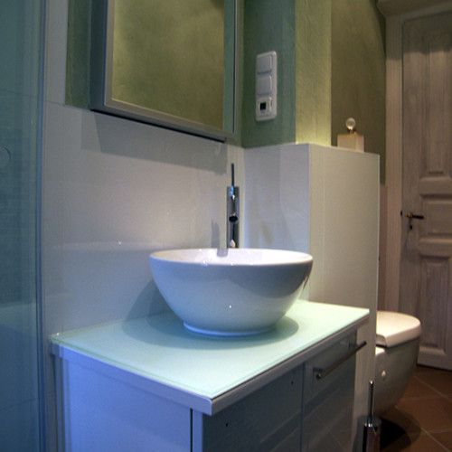 Badmöbel mit Waschbecken