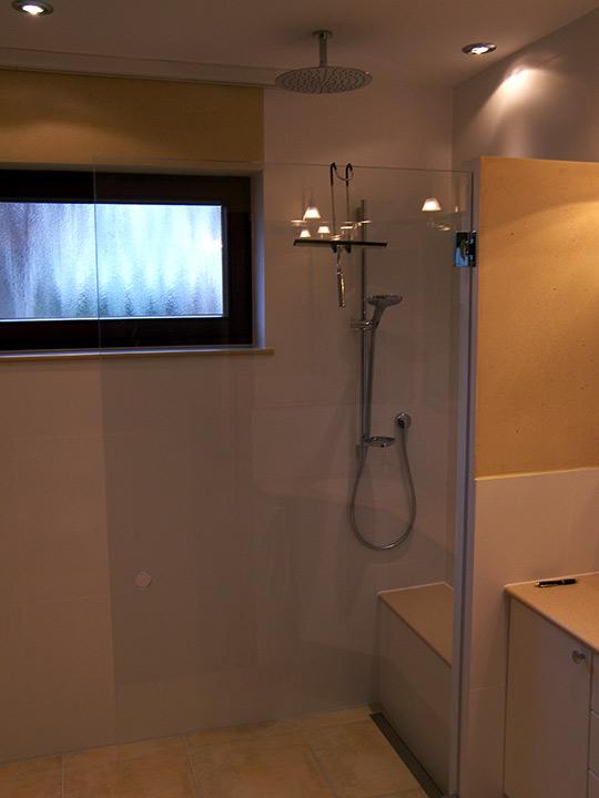Dusche Mit Sitzbank : Begehbare Dusche mit Sitzbank – B?der Dunkelmann