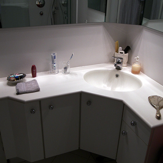 design idee farbakzente in nischen bad 033 b der. Black Bedroom Furniture Sets. Home Design Ideas
