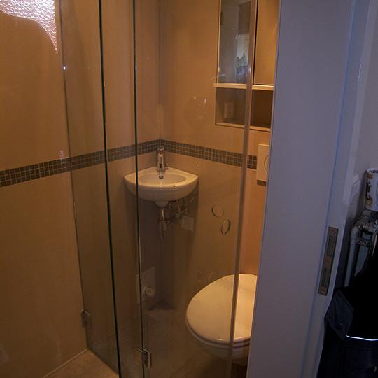 Duschabtrennung Im Kleinem Bad Einrichten