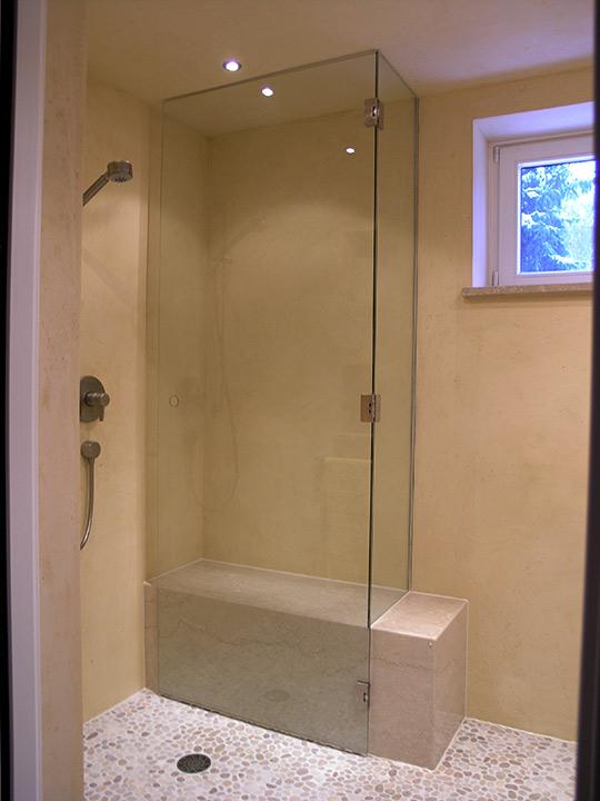 ebenerdige dusche mit rundem ablauf bad 34 b der dunkelmann. Black Bedroom Furniture Sets. Home Design Ideas