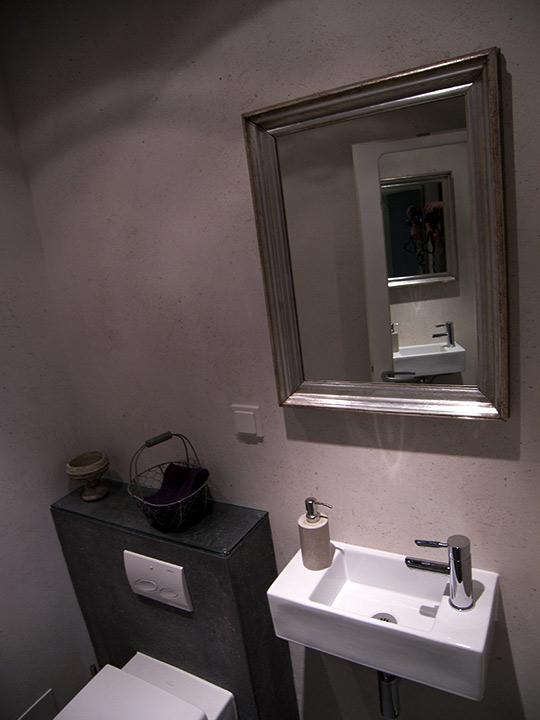 Badausstellung Norderstedt gäste wc mit schiefer fliesen bad 017 bäder dunkelmann