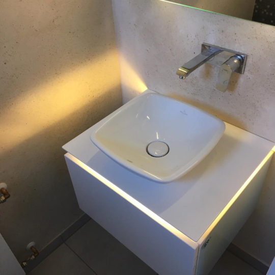 Gäste WC neu