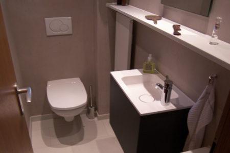 Gäste WC Toilette Waschtisch