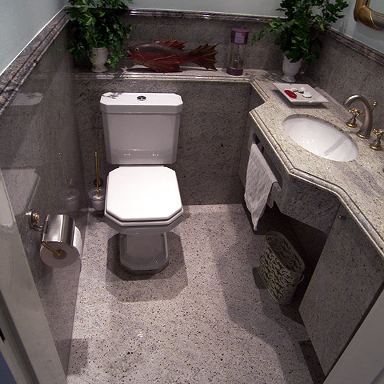 Bad Granit granit im gäste wc bad 022 bäder dunkelmann