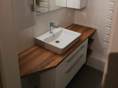 Holz Waschtischplatte Badezimmer