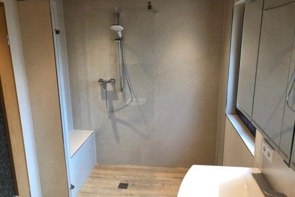 Kerlite Fliesen im Duschbereich