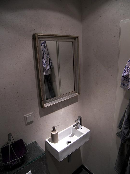 g ste wc mit schiefer fliesen bad 017 b der dunkelmann. Black Bedroom Furniture Sets. Home Design Ideas