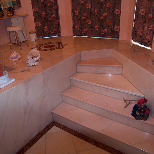 luxusbad auf zwei ebenen (bad 024) - bäder dunkelmann, Hause ideen