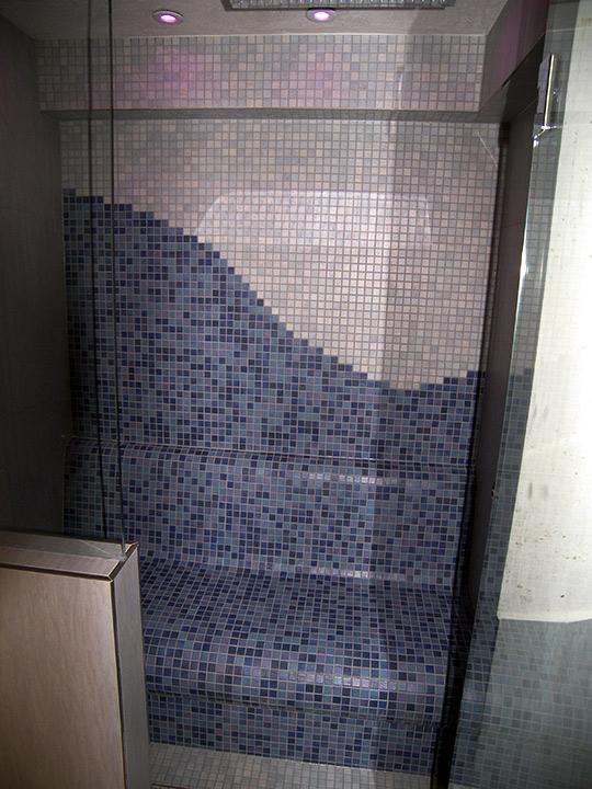 Mosaikfliesen Dampfbad