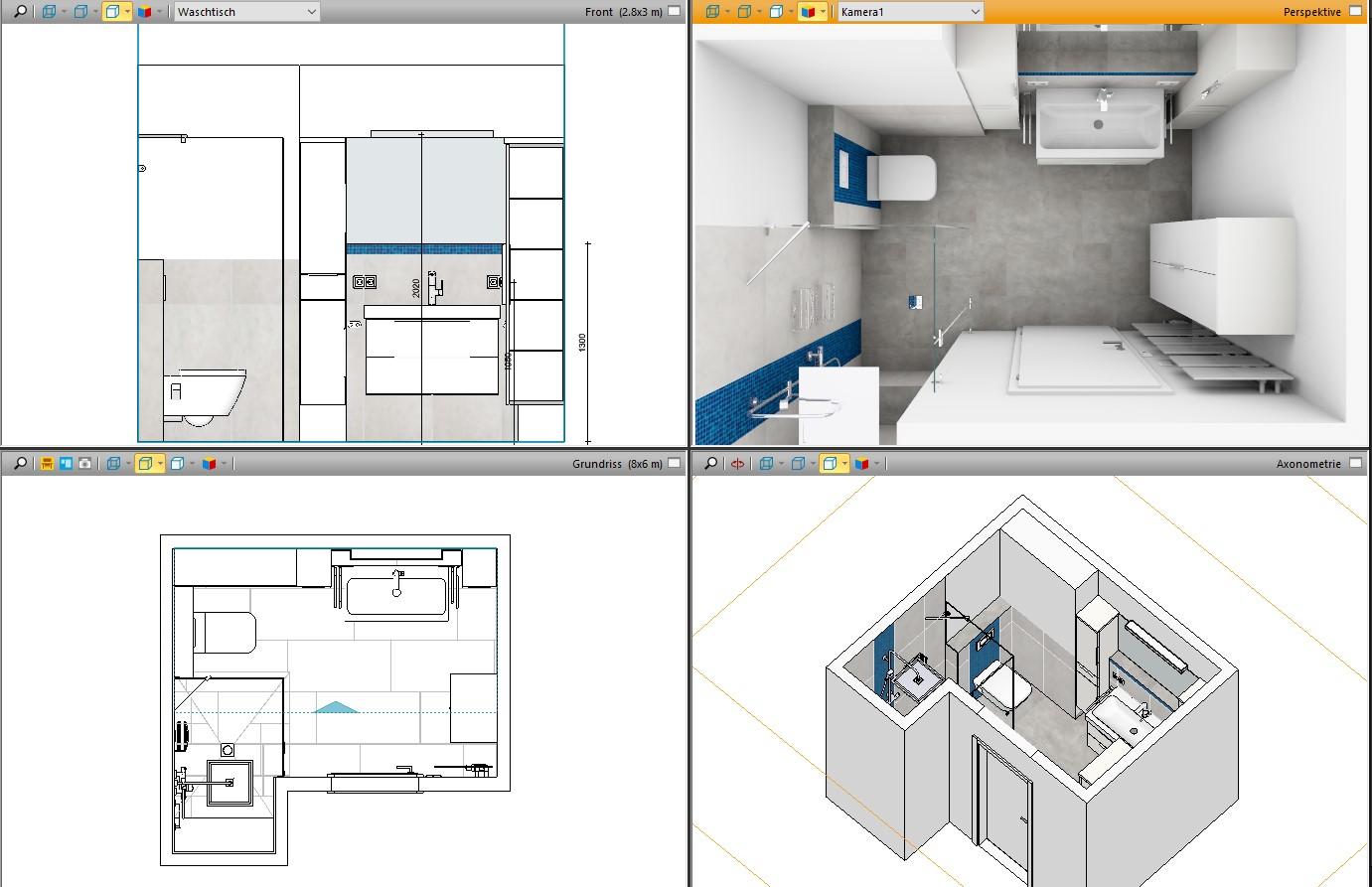 3D Badplaner – wir planen ihr Badezimmer
