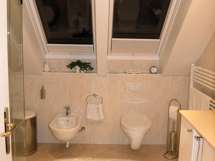 Eingepasste Duschturen Im Dachgeschoss Bad 040 Bader Dunkelmann