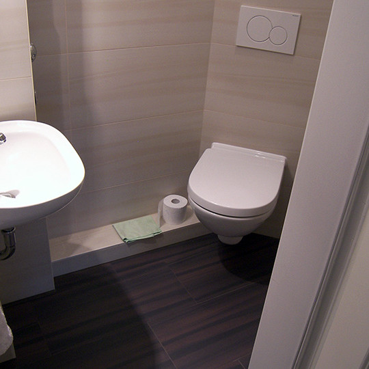 mini g ste wc inklusive dusche bad 019 b der dunkelmann. Black Bedroom Furniture Sets. Home Design Ideas