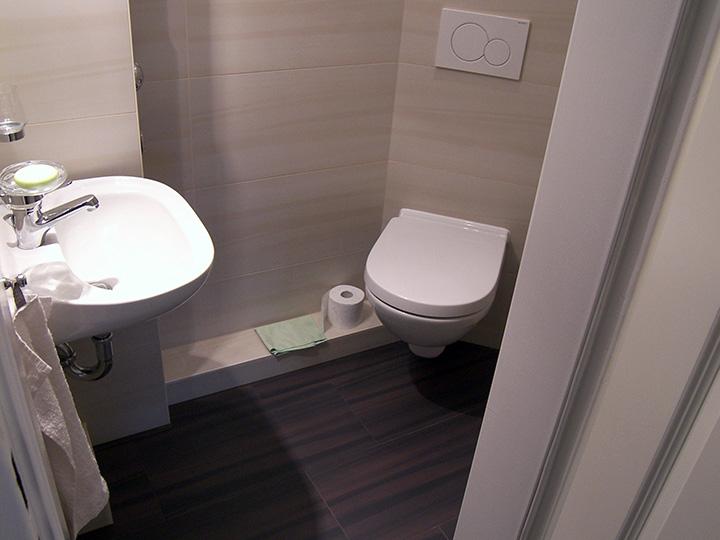 Mini-Gäste-WC Inklusive Dusche (Bad 019)