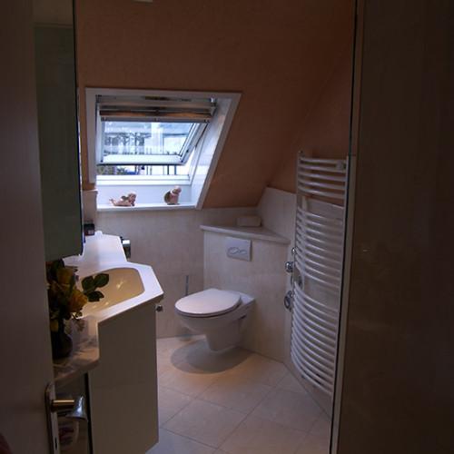 Minibad im Dachgeschoss sanieren