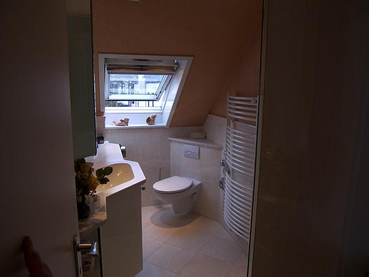 mini duschbad im dachgeschoss bad 046 b der dunkelmann. Black Bedroom Furniture Sets. Home Design Ideas