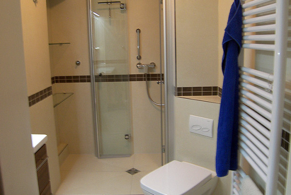 Neues Badezimmer mit Mosaik