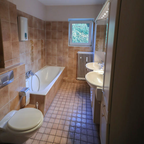 Altengerechtes Badezimmer Hamburg - Vorher-Nachher-Vergleich